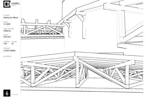 Střecha - Třinec