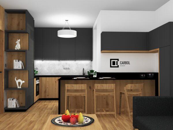 Interiér bytu - Čeladná
