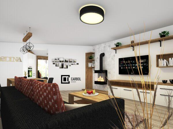 Obývací pokoj - Odrlice