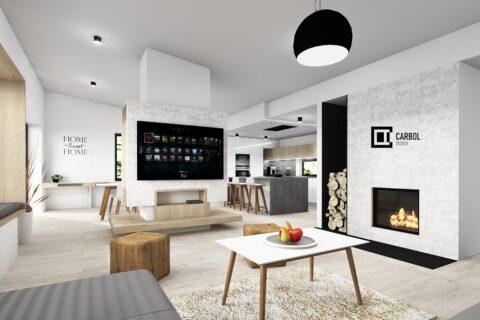 Obývací pokoj - Oldřichovice
